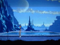une photo d'écran de Another World sur Panasonic 3DO